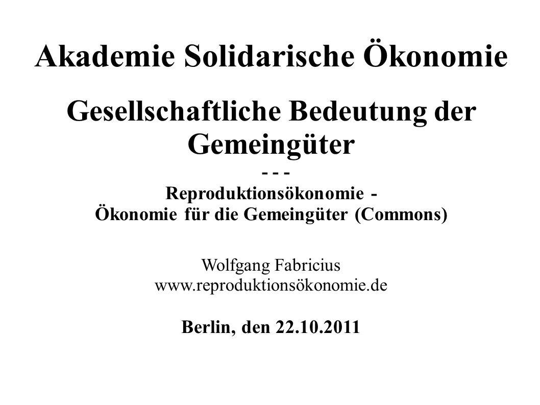 Akademie Solidarische Ökonomie