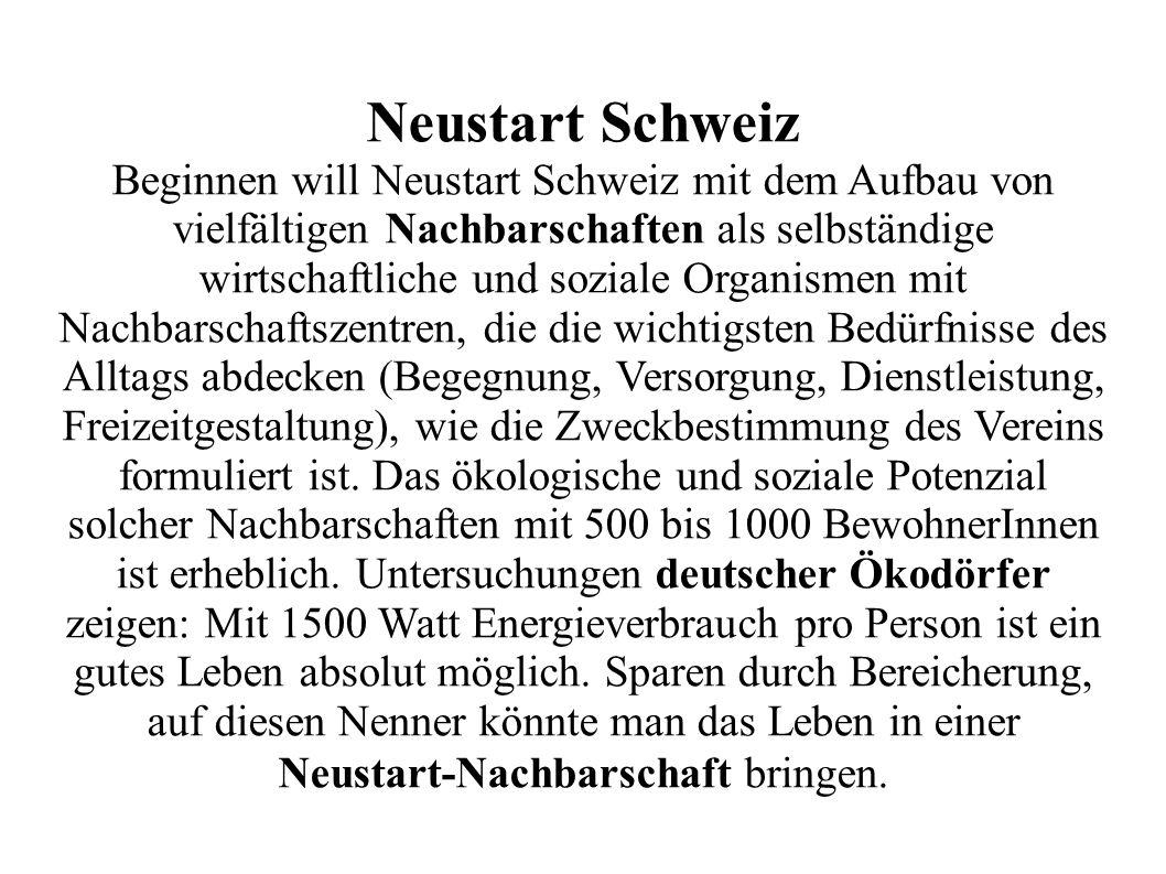 Neustart Schweiz