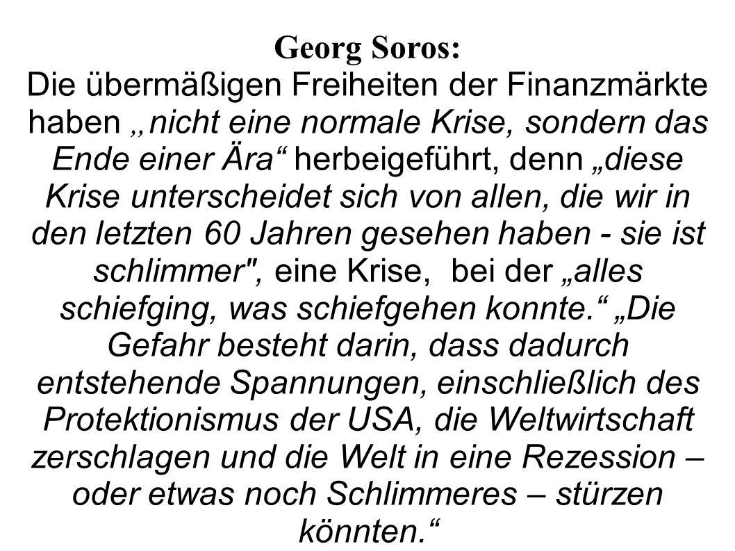 Georg Soros: