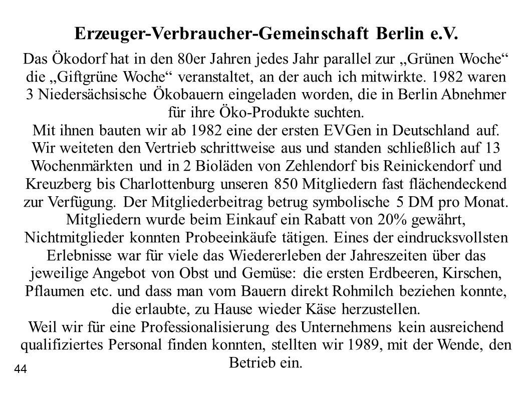 Erzeuger-Verbraucher-Gemeinschaft Berlin e.V.