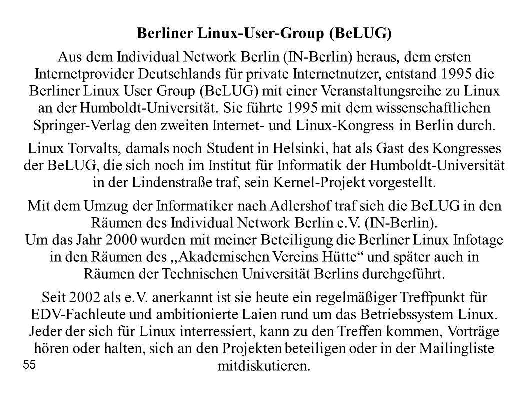 Berliner Linux-User-Group (BeLUG)