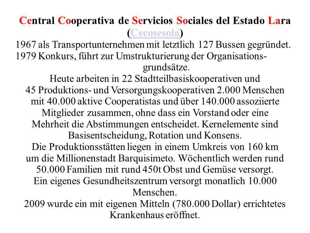 Central Cooperativa de Servicios Sociales del Estado Lara