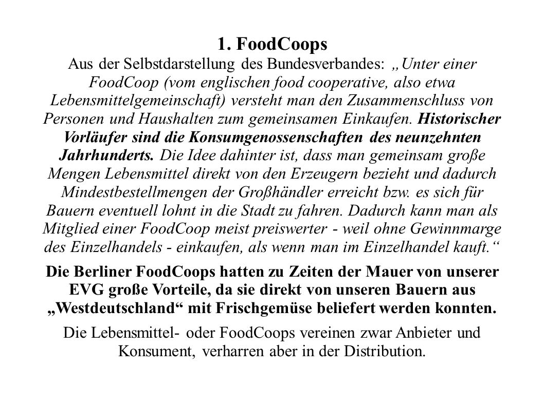 1. FoodCoops