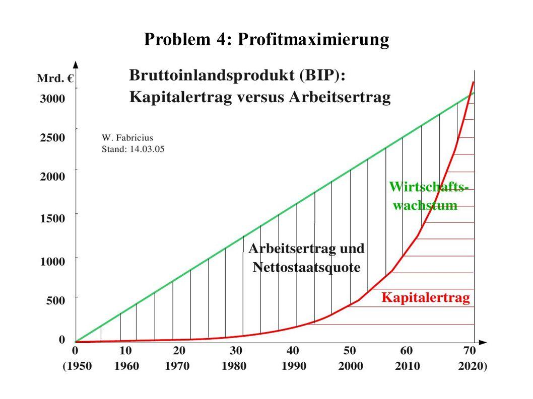 Problem 4: Profitmaximierung