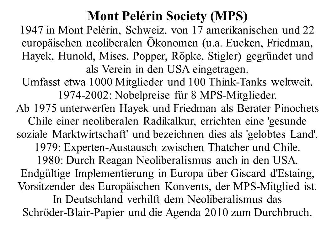 Mont Pelérin Society (MPS)