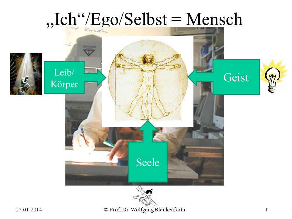 """""""Ich /Ego/Selbst = Mensch"""