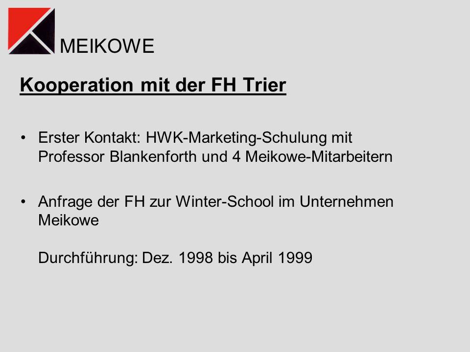 Kooperation mit der FH Trier