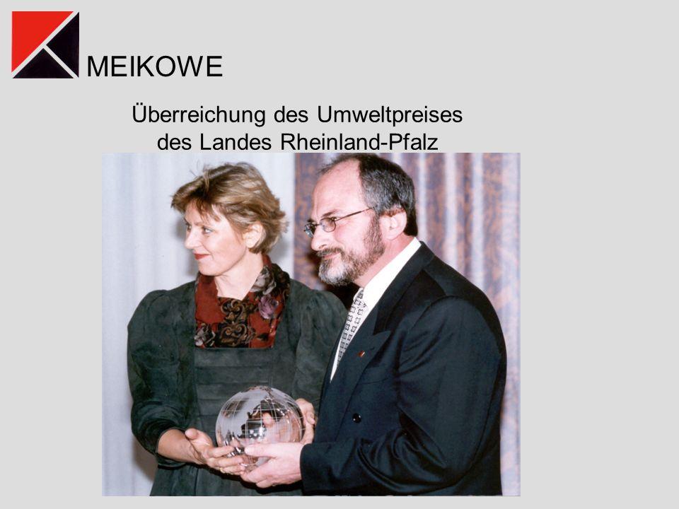 Überreichung des Umweltpreises des Landes Rheinland-Pfalz