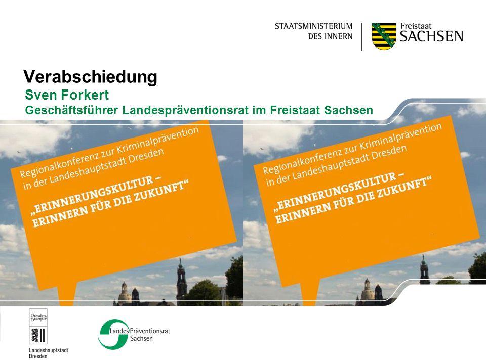 Sven Forkert Geschäftsführer Landespräventionsrat im Freistaat Sachsen