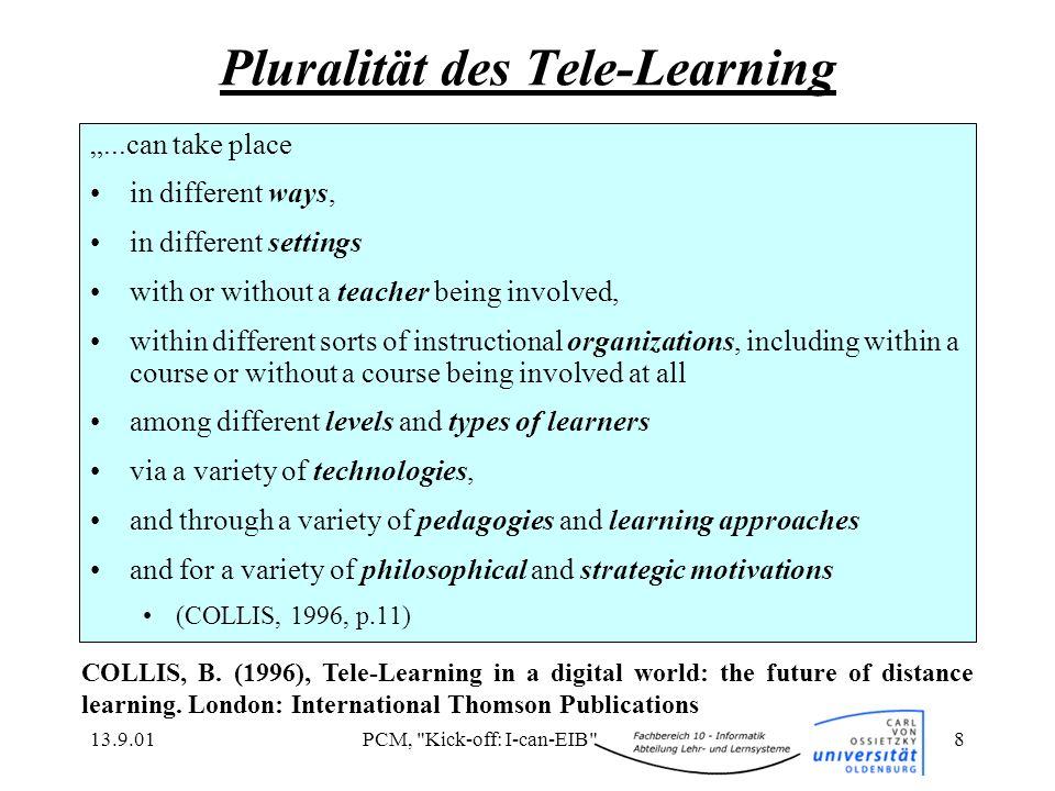 Pluralität des Tele-Learning