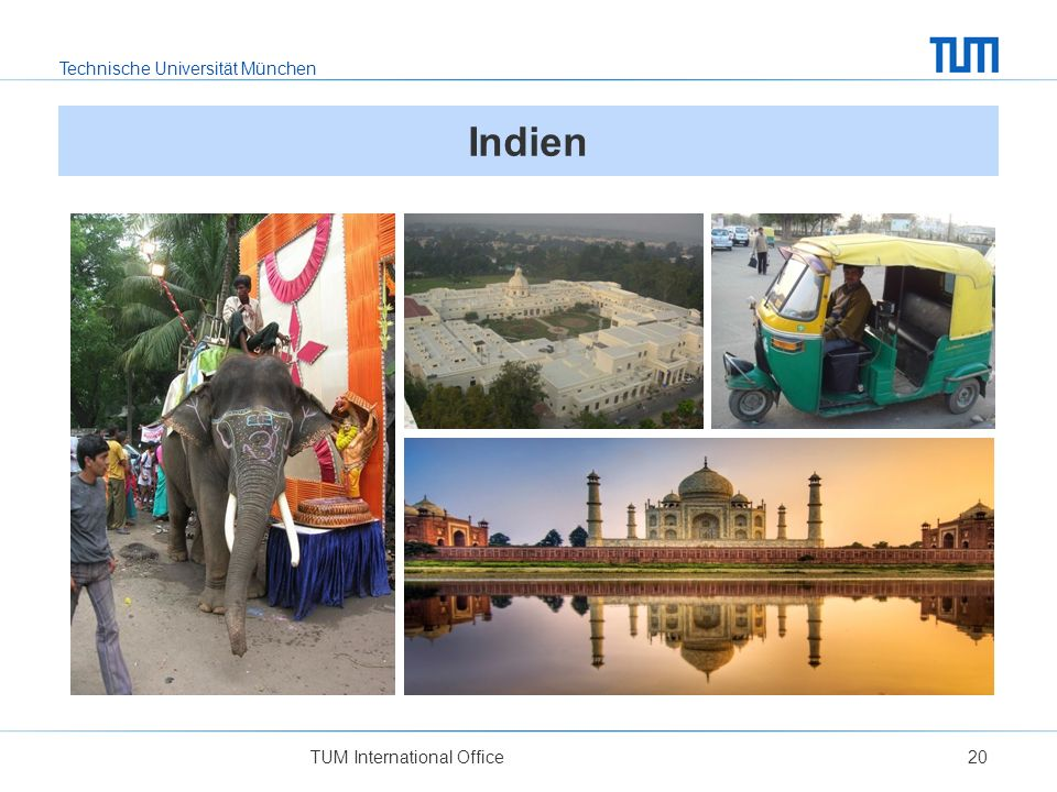 Indien TUM International Office