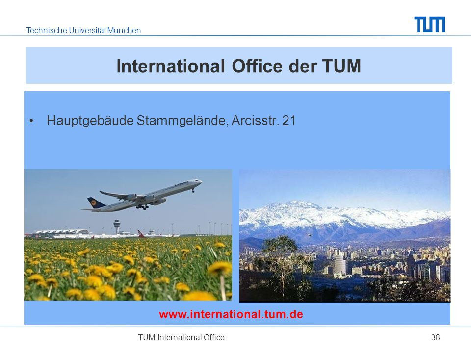 International Office der TUM