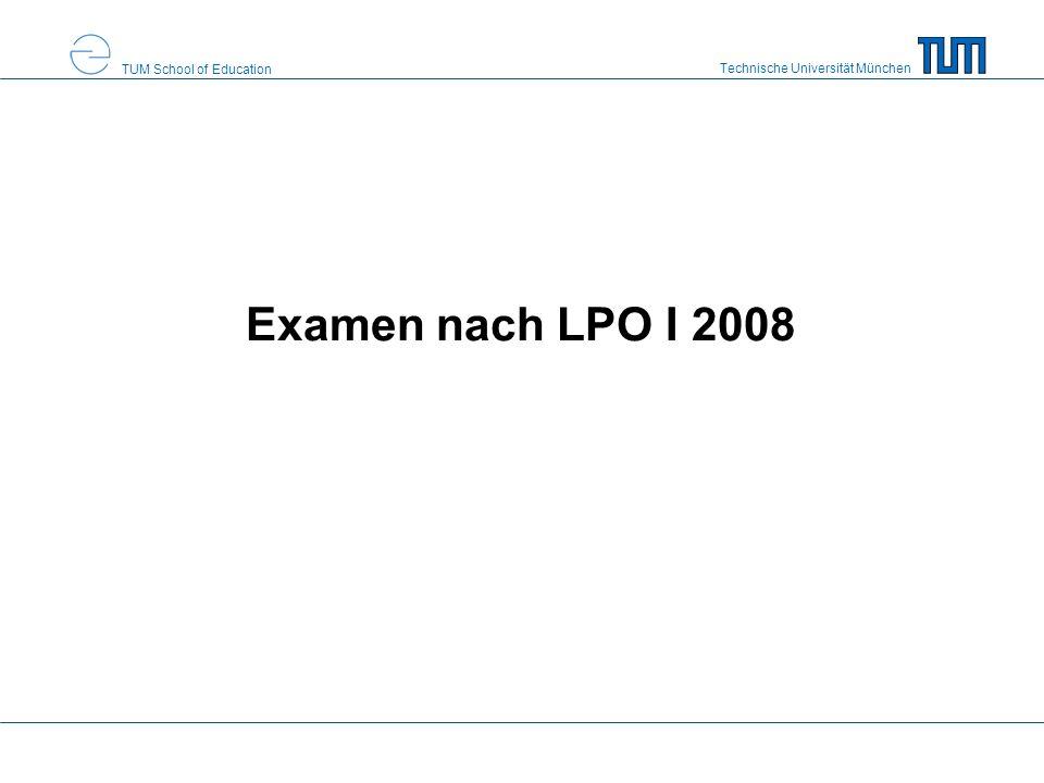 Examen nach LPO I 2008