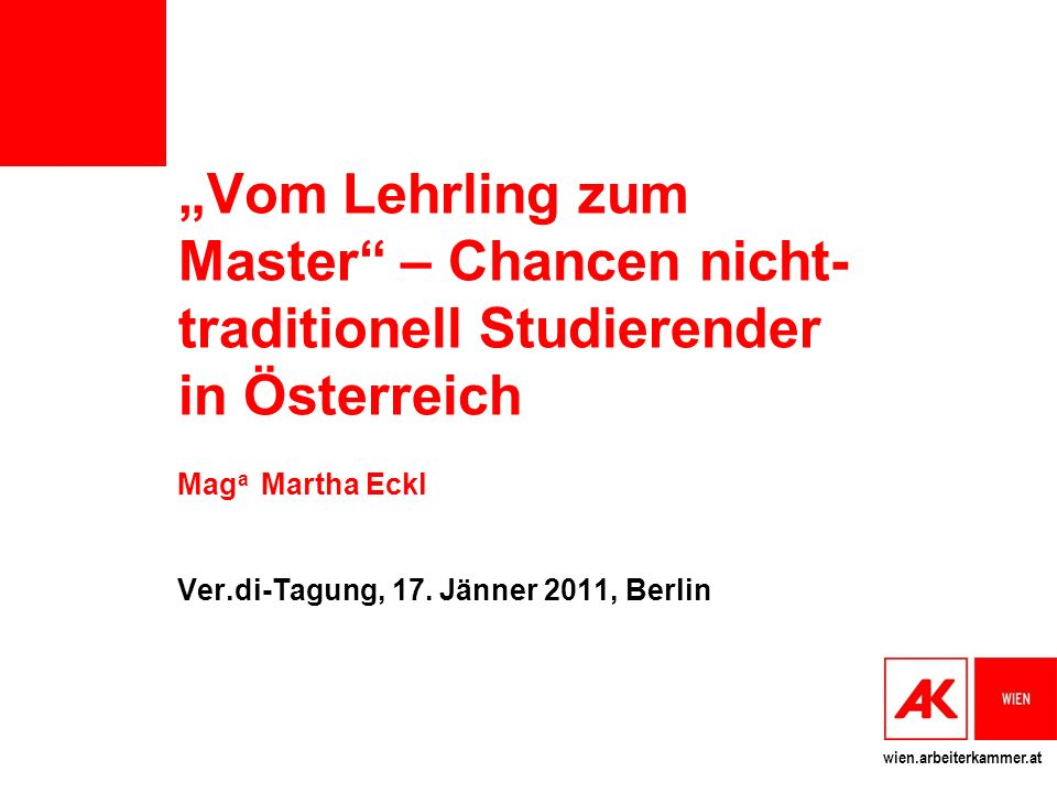 Maga Martha Eckl Ver.di-Tagung, 17. Jänner 2011, Berlin