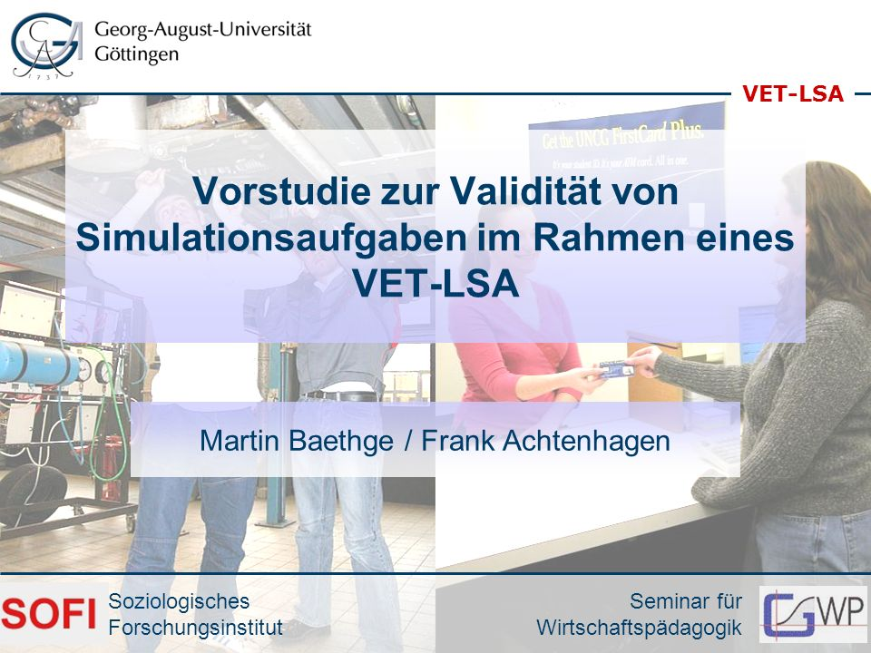 Martin Baethge / Frank Achtenhagen