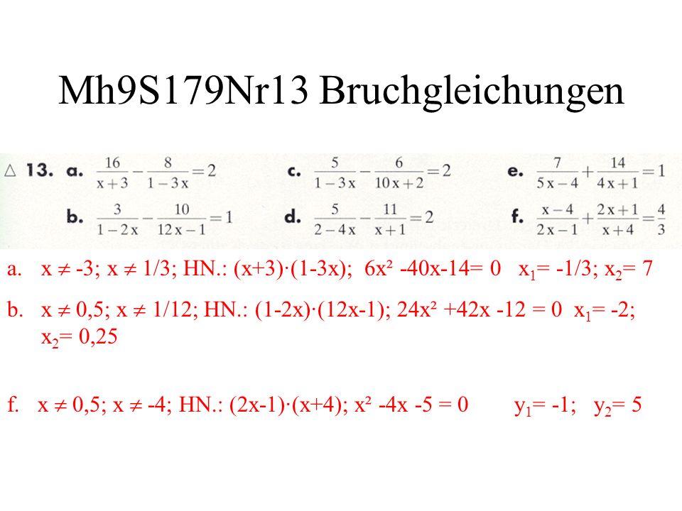 Mh9S179Nr13 Bruchgleichungen