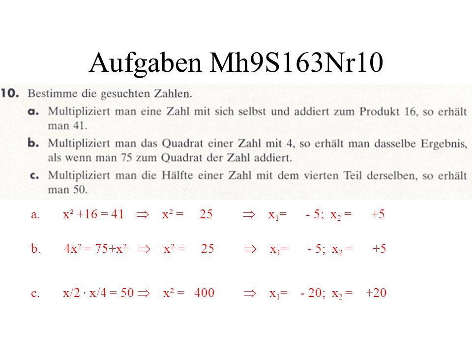 Aufgaben Mh9S163Nr10