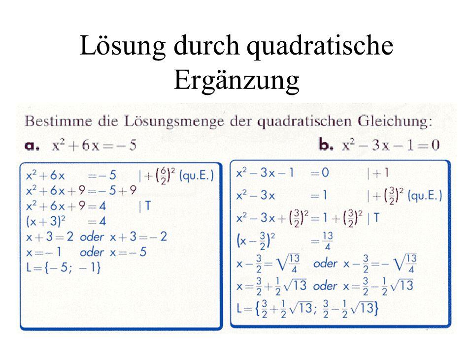 Beste Quadratische Ergänzung Arbeitsblatt Algebra 2 Bilder ...