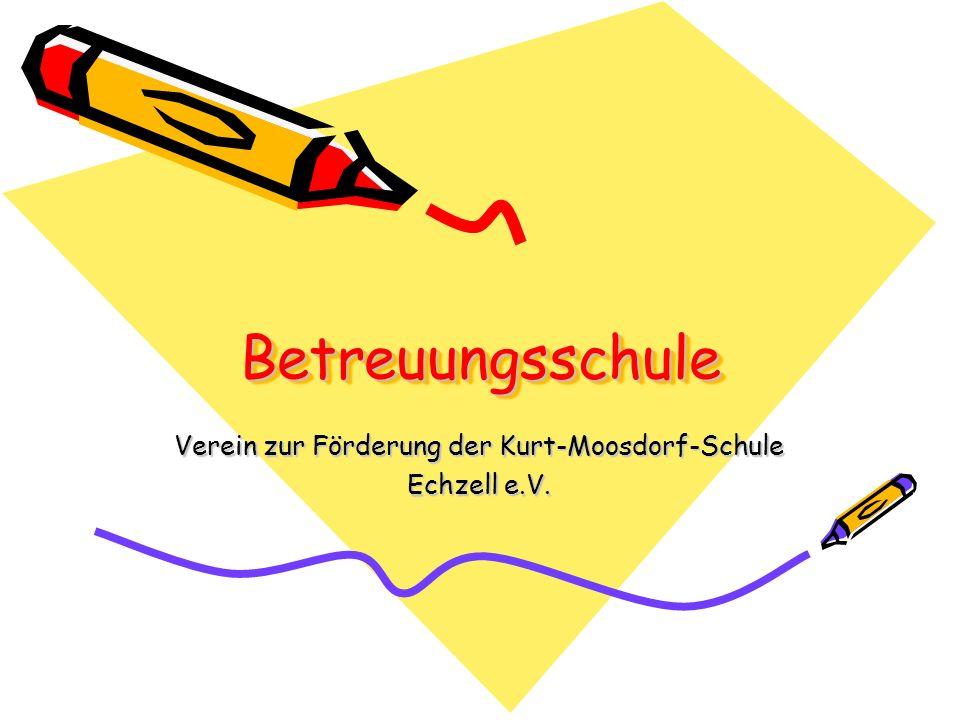 Verein zur Förderung der Kurt-Moosdorf-Schule Echzell e.V.