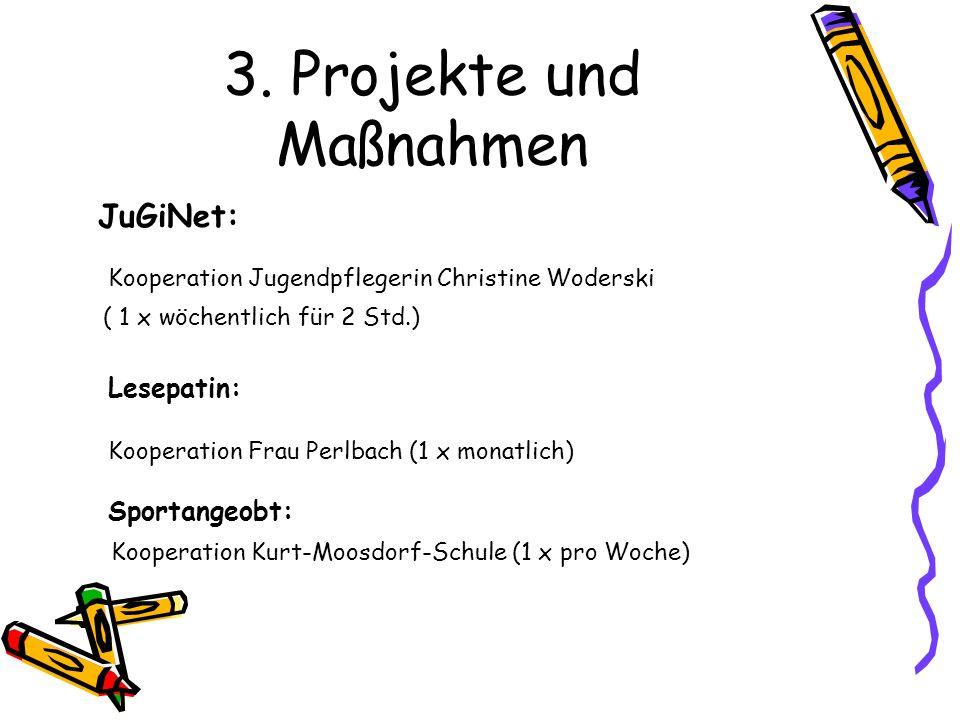 3. Projekte und Maßnahmen