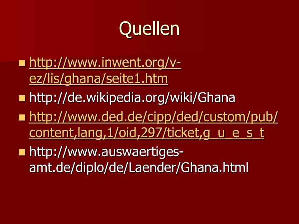 Quellen http://www.inwent.org/v-ez/lis/ghana/seite1.htm