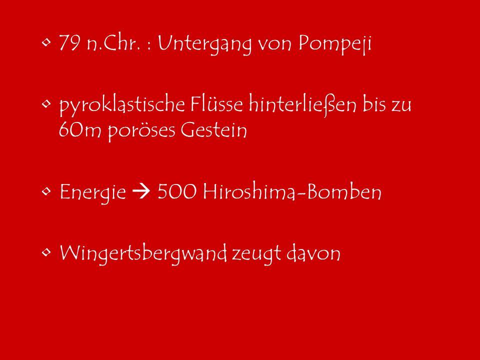 79 n.Chr. : Untergang von Pompeji