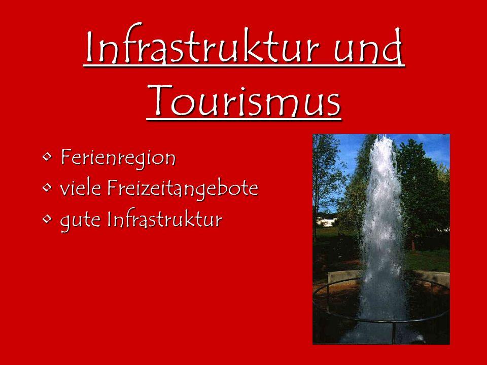 Infrastruktur und Tourismus