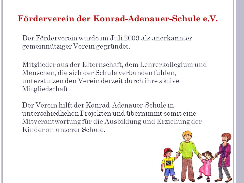Förderverein der Konrad-Adenauer-Schule e.V.
