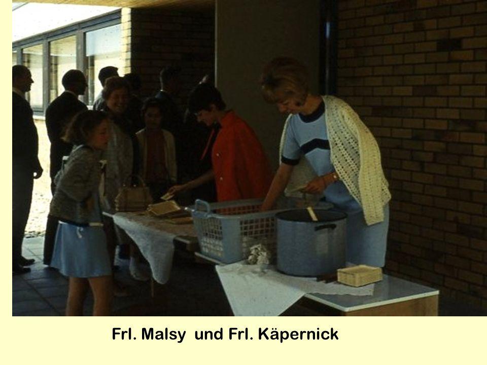 Frl. Malsy und Frl. Käpernick