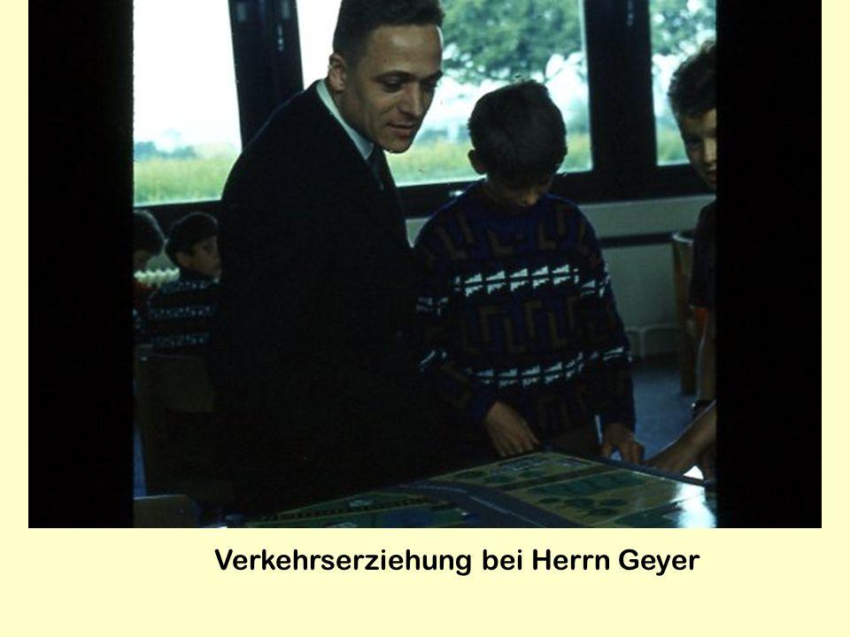 Verkehrserziehung bei Herrn Geyer