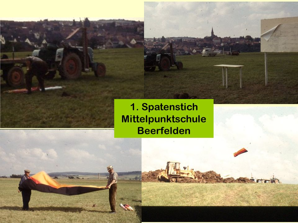 1. Spatenstich Mittelpunktschule Beerfelden