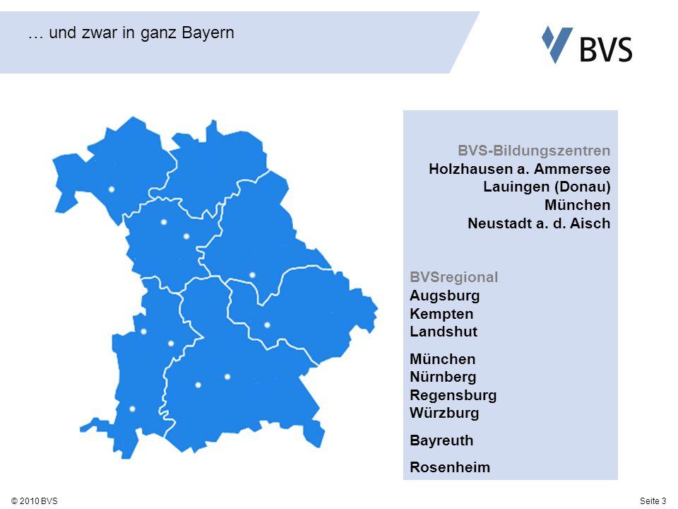 … und zwar in ganz Bayern