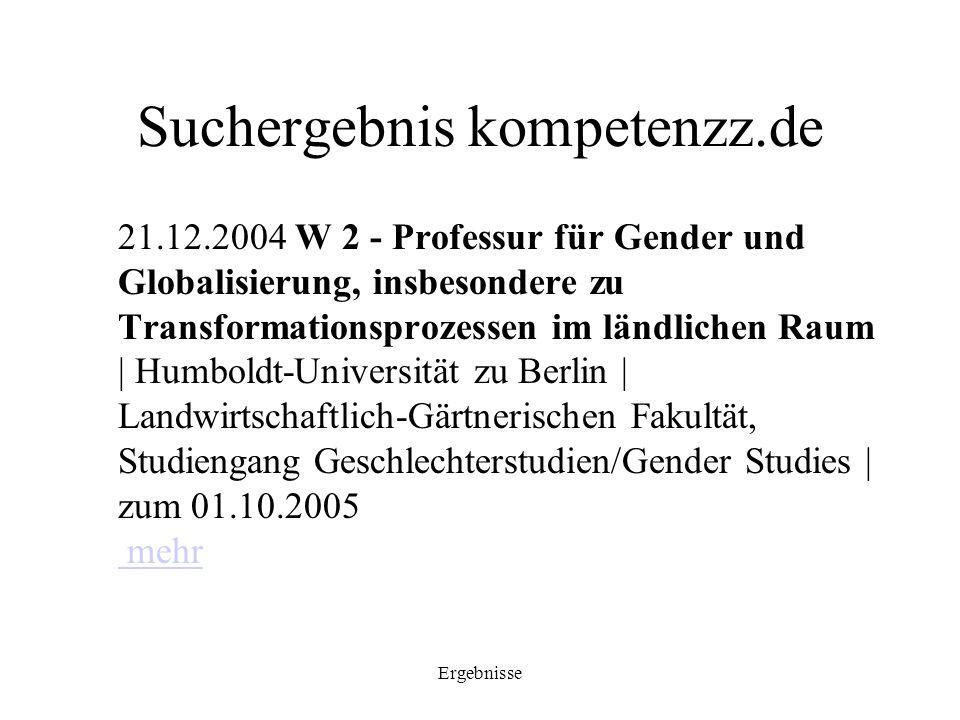 Suchergebnis kompetenzz.de