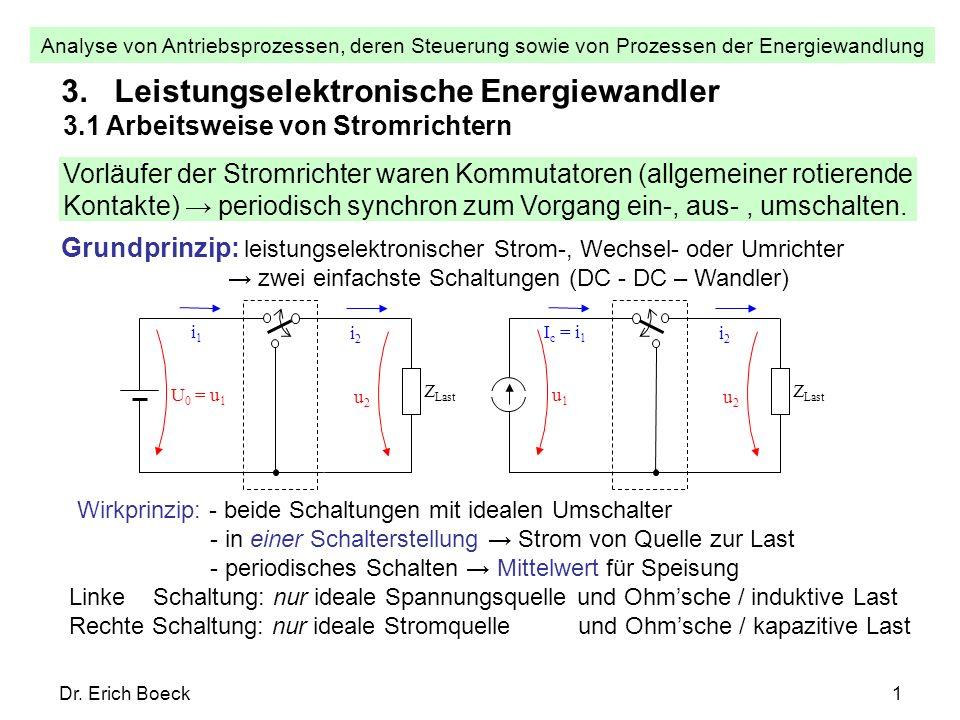 3. Leistungselektronische Energiewandler