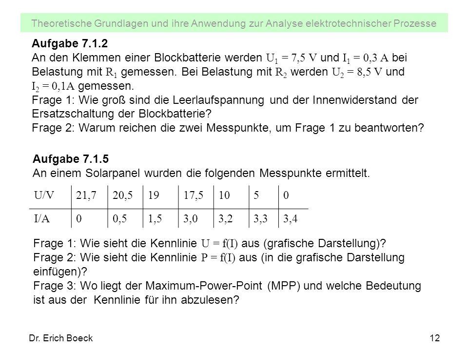 Frage 2: Warum reichen die zwei Messpunkte, um Frage 1 zu beantworten