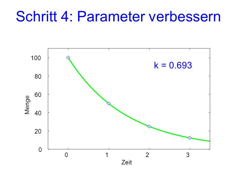 Schritt 4: Parameter verbessern