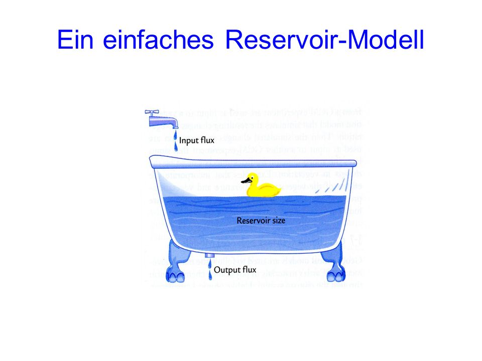 Ein einfaches Reservoir-Modell