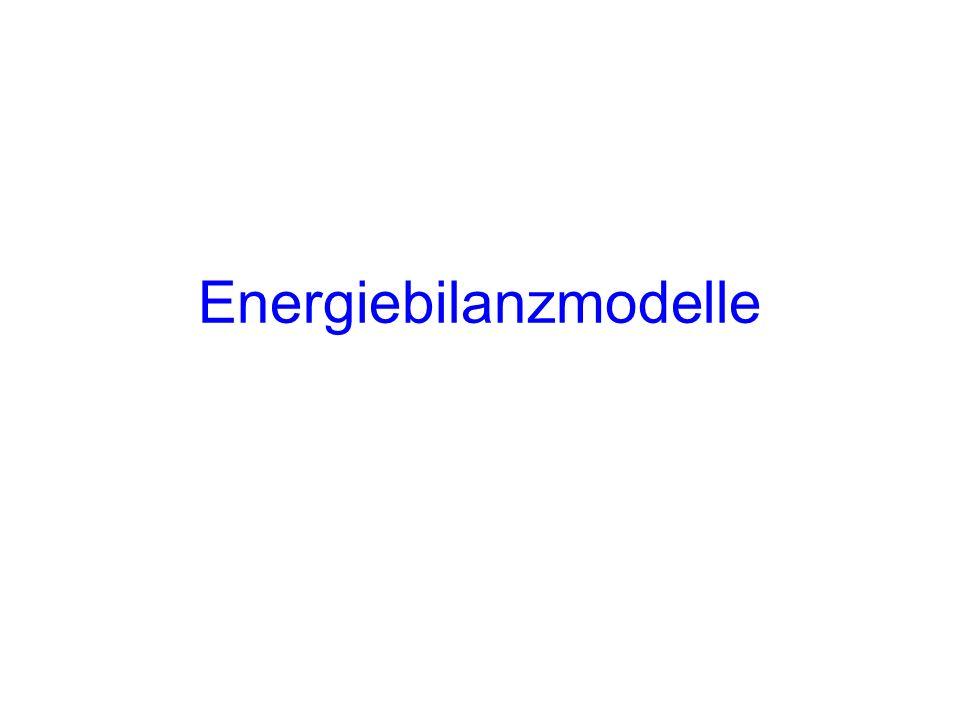 Energiebilanzmodelle