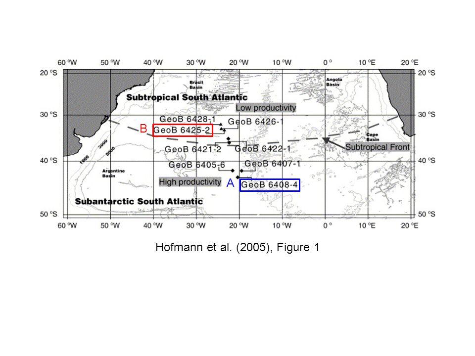 B A Hofmann et al. (2005), Figure 1