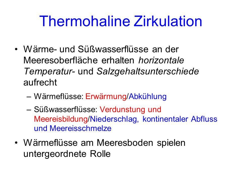 Thermohaline Zirkulation