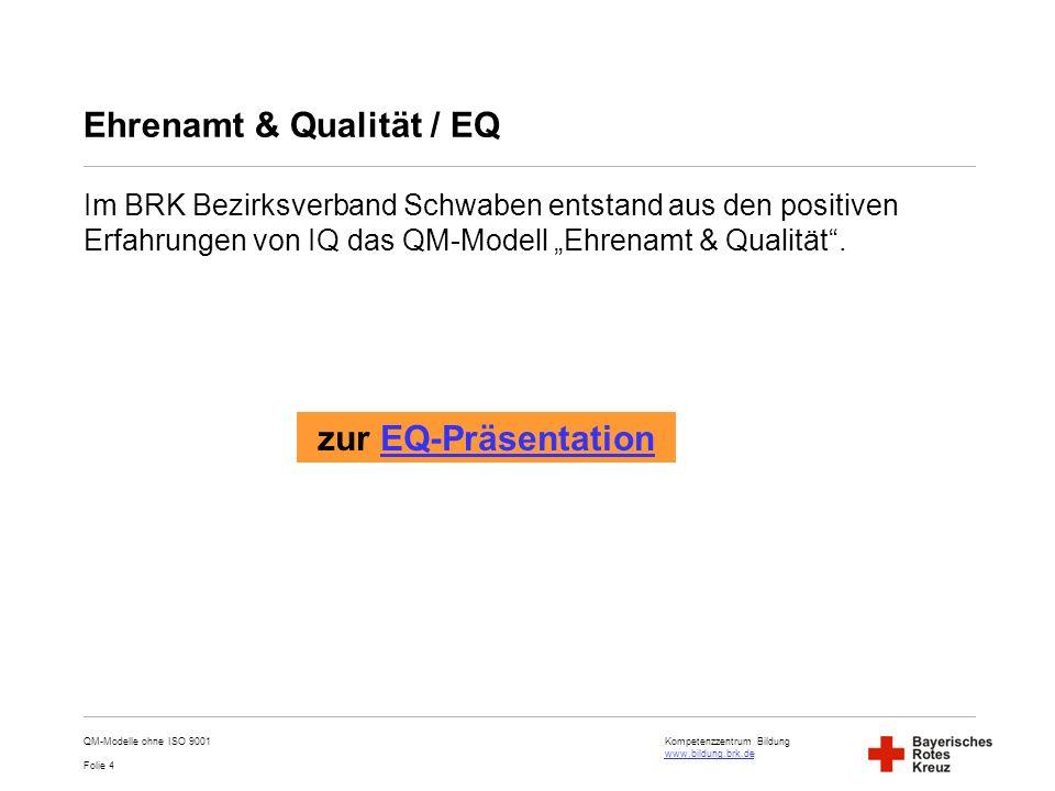 Ehrenamt & Qualität / EQ