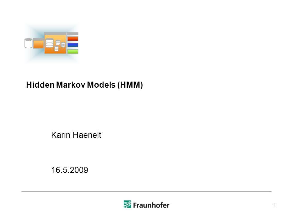 Hidden Markov Models (HMM)