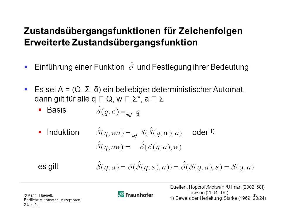 Zustandsübergangsfunktionen für Zeichenfolgen Erweiterte Zustandsübergangsfunktion