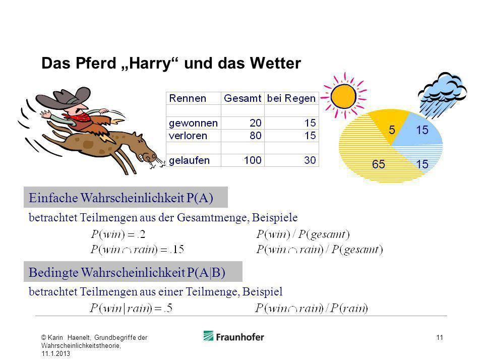 """Das Pferd """"Harry und das Wetter"""
