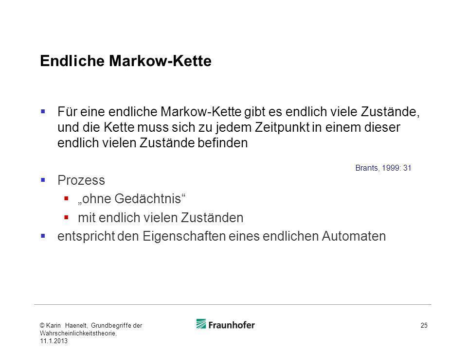 Endliche Markow-Kette