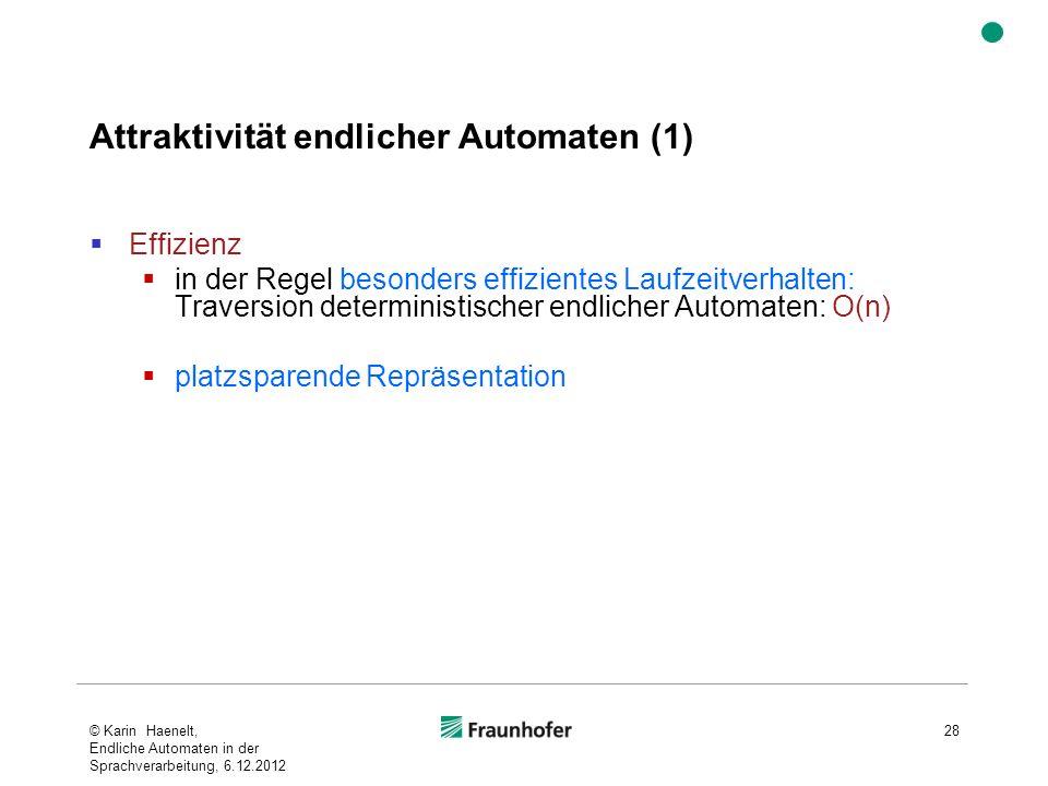 Attraktivität endlicher Automaten (1)