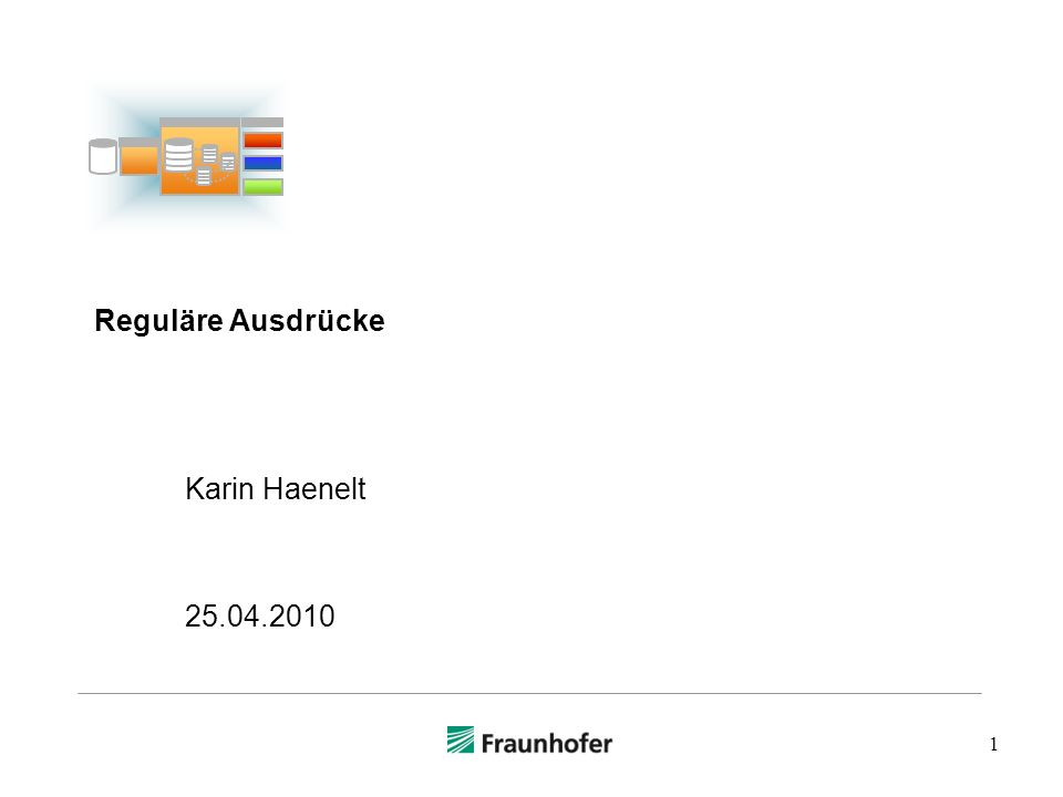 Reguläre Ausdrücke Karin Haenelt 25.04.2010