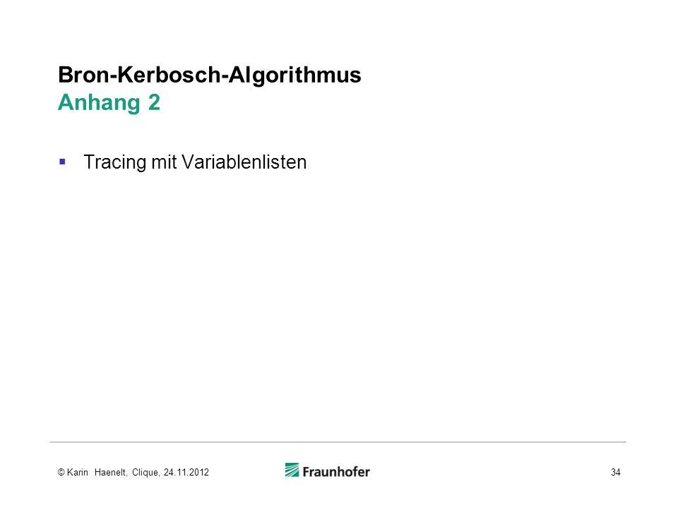 Bron-Kerbosch-Algorithmus Anhang 2