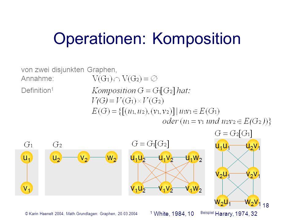 Operationen: Komposition