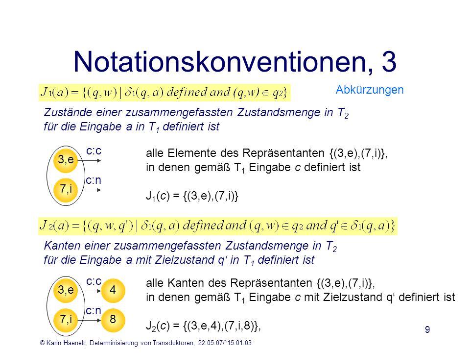 Notationskonventionen, 3